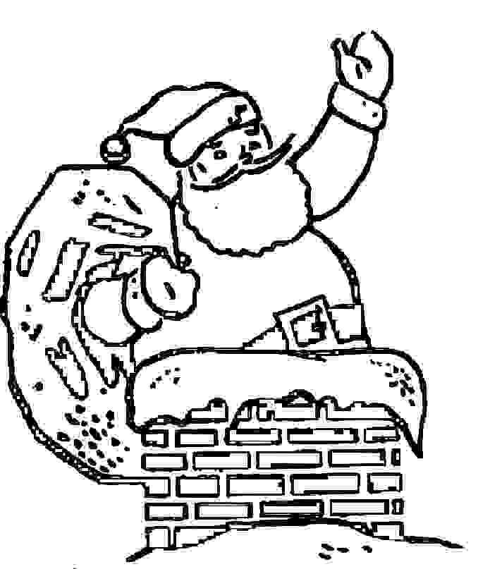 father christmas coloring pages - photo#16