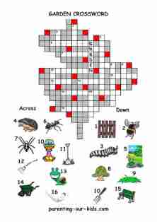 ... Kids...free crossword puzzles - free printable crossword worksheets