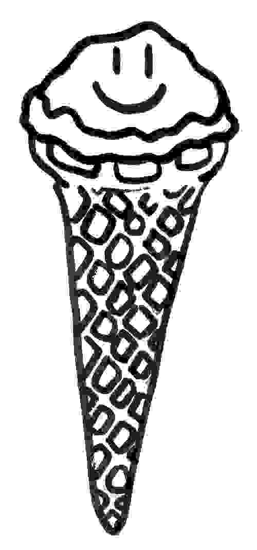 pattern icecream coloring sheet icecream cone - Coloring Sheets For Kids 2