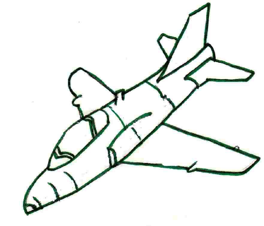 Jet printable coloring pages for Coloring page jet