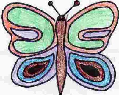 butterfly coloring pages for kids to. Butterfly Coloring Pages