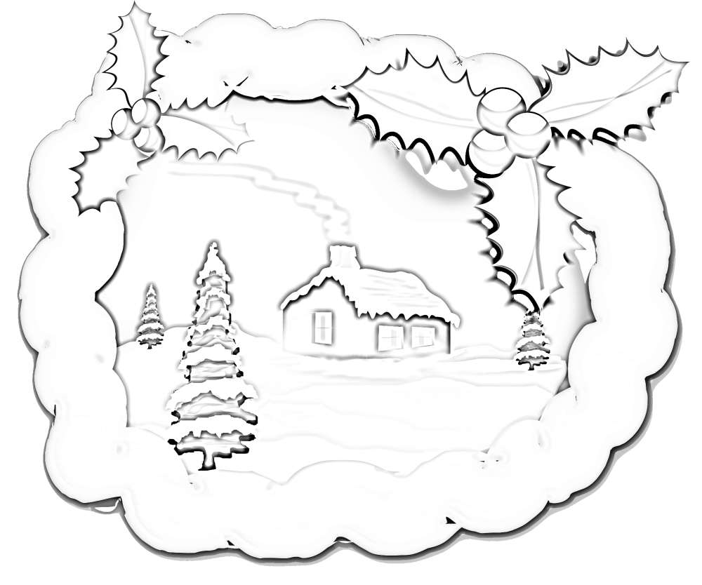 snow dog coloring pages - photo#17